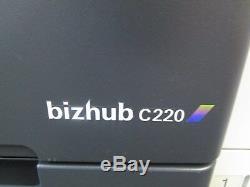 Konica Minolta Bizhub C220 Photocopieurs / Photocopieurs Et Télécopieurs