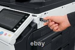 Konica Minolta Bizhub C224e Color Print, Duplex Network, Dual Scan, Fax Copy