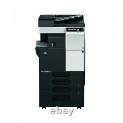 Konica Minolta Bizhub C227 Couleur Copieur D'impression Scan Fax Finisseur D'agrafes