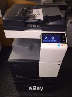 Konica Minolta Bizhub C227 Numérique Couleur A4 / A3 Photocopieur / Imprimer / Numériser