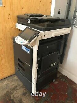 Konica Minolta Bizhub C253 Imprimante Copieur Scanner Utilisé Cartouches Gratuites