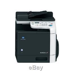 Konica Minolta Bizhub C25 Farbkopierer Drucker Scanner Télécopieur 29424 Seiten Gedruckt