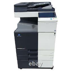 Konica Minolta Bizhub C284 Farbkopierer Laserdrucker Scanner 448.099 Seiten #5