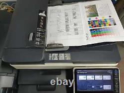 Konica Minolta Bizhub C284e Couleur All-in-one Printre Et Finisseur De La Billet (131ko)