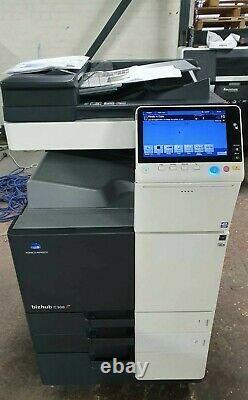 Konica Minolta Bizhub C308 Couleur Tout-en-un Imprimante (70k Total Meter!) Vat Inc
