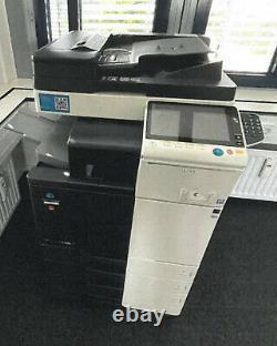 Konica Minolta Bizhub C308 Farblaserdrucker Kopierer Netzwerk-drucker Scanner