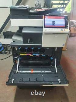 Konica Minolta Bizhub C308 Imprimante Réseau Mfp Pleine Couleur Avec Finition Agrafée
