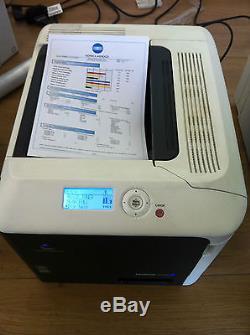 Konica Minolta Bizhub C35p Imprimante Couleur Laser A4 50k Impressions