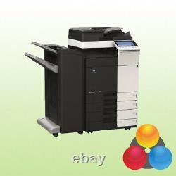 Konica Minolta Bizhub C364e 4 Pf Drucker Scanner Kopierer Mit Finisher
