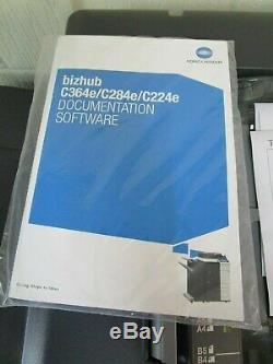 Konica Minolta Bizhub C364e Photocopieur / Photocopieuse Couleur Et Finisseur