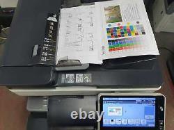 Konica Minolta Bizhub C368 Couleur Tout-en-un Imprimante (69k Total Meter!) Vat Inc