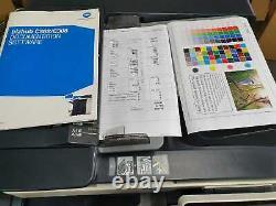 Konica Minolta Bizhub C368 Imprimante Couleur Tout-en-un Avec Finisseur De Carnet