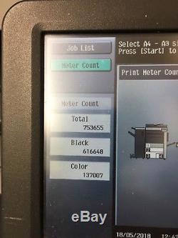 Konica Minolta Bizhub C451 Imprimante Copieur Réseau Couleur Booklet Maker Scan Mfp