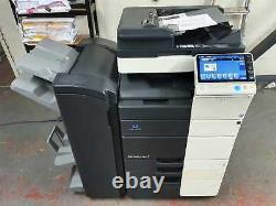 Konica Minolta Bizhub C454 Imprimante/photocopieur Couleur Avec Finisseur De Livret