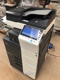 Konica Minolta Bizhub C454e Copieur Couleur Avec Finisseur Interne, Fiery & Fax