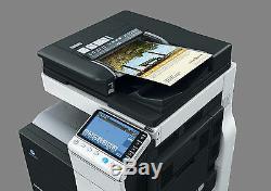 Konica Minolta Bizhub C454e Couleur Coper Imprimer Numérisation Réseau 18k Couleur Staple Fin