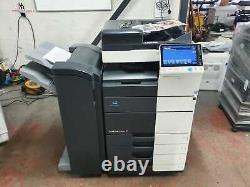 Konica Minolta Bizhub C454e Imprimante/photocopieur Couleur Avec Finisseur De Base