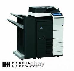 Konica Minolta Bizhub C454e Mfp Imprimante Commerciale Copieur Fax Staple Colo