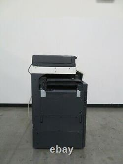 Konica Minolta Bizhub C454e Scanner D'imprimante Copieur Couleur Seulement 99k Copies 45 Ppm