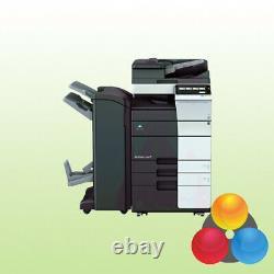 Konica Minolta Bizhub C458 Kopierer Drucker Scanner A3 249.143 Blatt Gedruckt