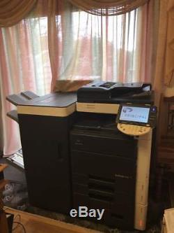Konica Minolta Bizhub C552 Imprimante Tout-en-un Et Livret / Plieuse Finition Fs-526