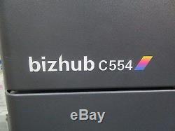 Konica Minolta Bizhub C554 Photocopieur Couleur