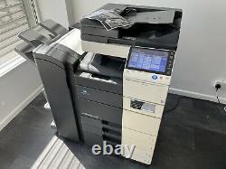 Konica Minolta Bizhub C554e Imprimante, Copieur Et Scanner (staple And Fold)