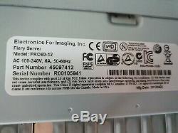Konica Minolta Bizhub C6000 / C7000 / C8000 Contrôleur Fiery (pro80-12) Imposition