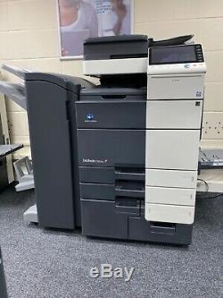 Konica Minolta Bizhub C654e Imprimante Couleur / Photocopieurs / Scanner / W Livret De Finition