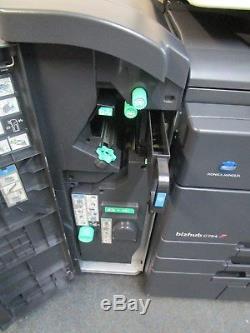 Konica Minolta Bizhub C754 Photocopieur Couleur Et Module De Finition De Livrets