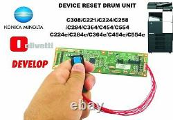Konica Minolta Bizhub Drum Reset Chip Pour Ineo Bizhub C221 C308 C224 C284 C258