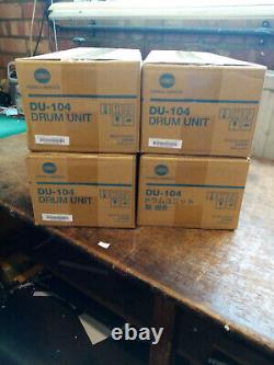 Konica Minolta Bizhub Les Tambours Du-104 Bundle X 4 Nouveau Dans La Boîte