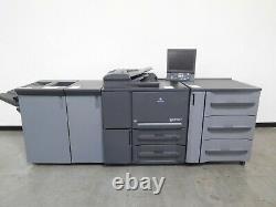 Konica Minolta Bizhub Press 1052 Imprimante Copieuse Scan 105 Ppm 590k Mètre