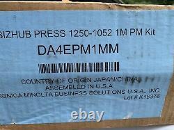 Konica Minolta Bizhub Press 1250p 1250 1052 Maintenance Kit Da4epm1mm Sealed