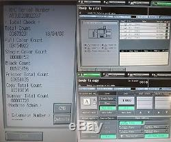 Konica Minolta Bizhub Pro C6500 C6500e Copieur Couleur Production Presse + Fougueux