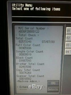 Konica Minolta Bizhub Pro C6500 Imprimante Couleur Imprimante Sra3, Fiery + Booklet Maker