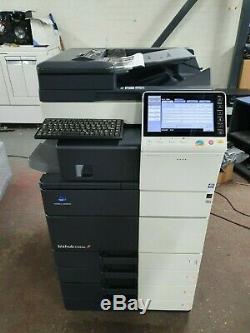 Konica Minolta C554e Color All-in-one Printer Interne Finisseur