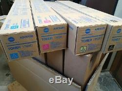 Konica Minolta D'origine Hub Pro C1060 24 Bouteilles De Toner Tn619 C, M, Y Et K