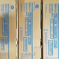 Konica Minolta Dr313 Unité De Tambour Cmy A7u4-0td Bizhub Bizhub C258 C368 C308
