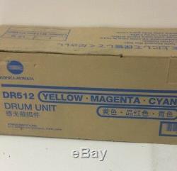 Konica Minolta Dr-512 / A2xn0td Trommel Couleur Für Bizhub C224 / 284/364 / 454/554