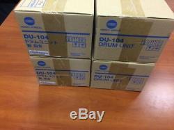 Konica Minolta Du-104 Tambour Set De 4 Pour Bizhub Press C6000 C7000 (exclvat)
