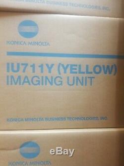 Konica Minolta Iu711y Unité D'imagerie Jaune Pour Bizhub C654 C754 A2x208d Iu711 Oem