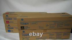 Konica Minolta Originale Tn-213 Tonerset Cmyk Bizhub C203 Bizhub C253