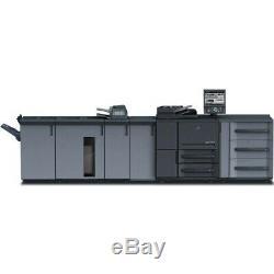 Konica Minolta Press 1250 Copieur Imprimante Scanner 125 Pages Par Minute
