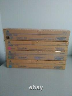 Konica Minolta Tn512 Set Y, M, C, K Cartouche Toner Standard Bizhub C454