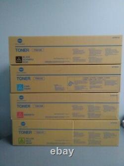 Konica Minolta Tn613y Tn613m, Tn613c, Tn613k Cartouche De Toner, Bizhub C452, C552