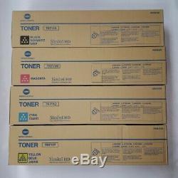 Konica Minolta Tn711c Tn711k Tn711m Tn711y 4 Tonifiants Bizhub C654 C654e C754 C754e