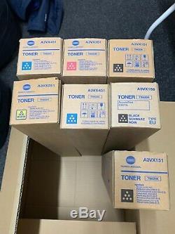 Konica Minolta Tn-620c 620k 620m 620y Pro C1060l 7 Bizhub Tonifiants