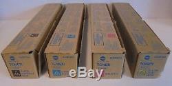 Konica Minolta Toner Cmyk Tn321k Tn321c Tn321m Tn321y F. Bizhub C224 C284 Neu