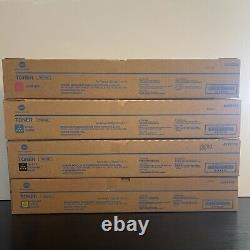 Konica Tn619 Toner Cmkk Pour Bizhub Presse C1060, C1070p, C1070 Expédition Le Même Jour
